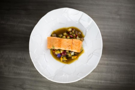 Salmon con verduras-2